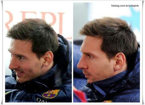 Messi na partida de hoje