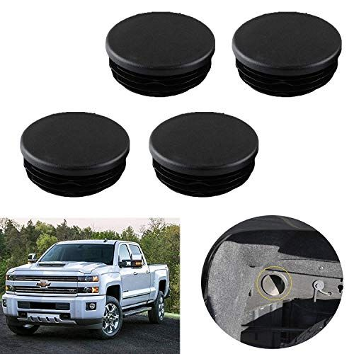Frame Tube Hole Plugs Rear Wheel Well Cover Replacement For 1999