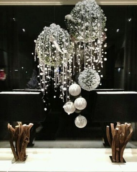 lila weihnachtsdeko ideen inspirationen kombi dekorationen