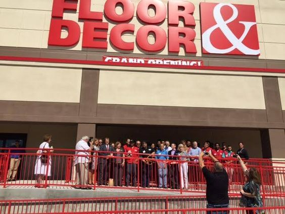 Floor & Decor had their ribbon cutting this week! Welcome!  7540 Byron Dr. Riviera Beach, FL 33404 (614) 670-5761 www.flooranddecor.com