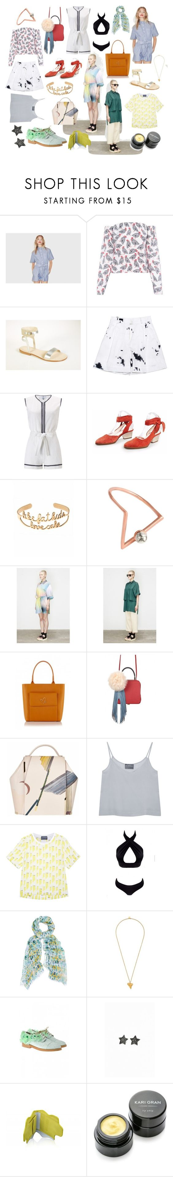 """Labor Day"" by runway2street ❤ liked on Polyvore featuring FLOW the Label, Cornetti, Ksenia Schnaider, Laura Manara, Zoe Lee, VANINA, LeiVanKash, Berenik, The Volon and Antipodium"