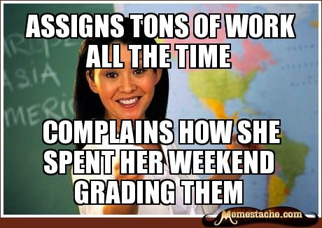 Never want to be this teacher...