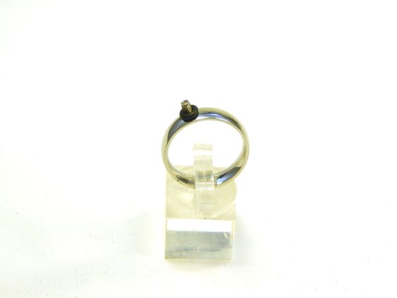 Interchangeable Ring Stainless Steel for Lampwork Ring Tops - pinned by pin4etsy.com