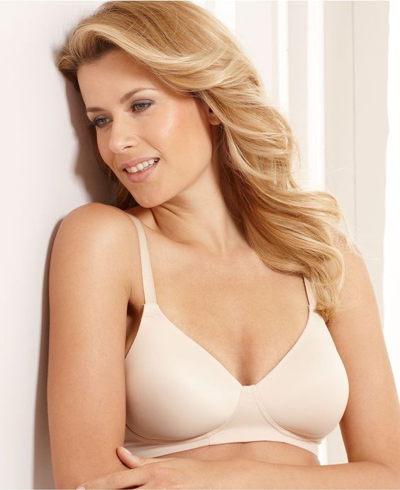 Bali Bra, Concealers Wireless Bra 3413 - Womens Plus Size Bras ...