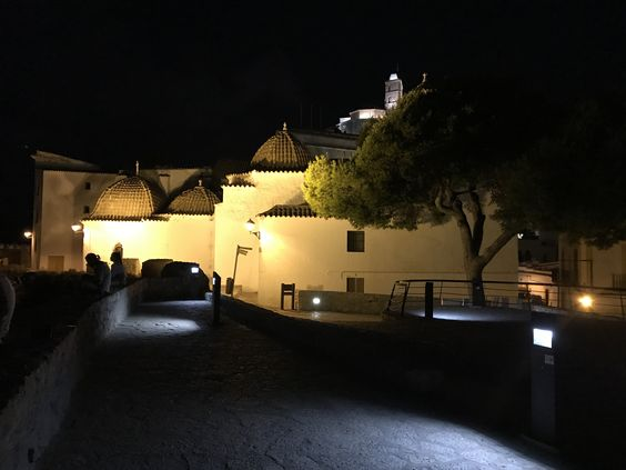 Eivissa churches by night