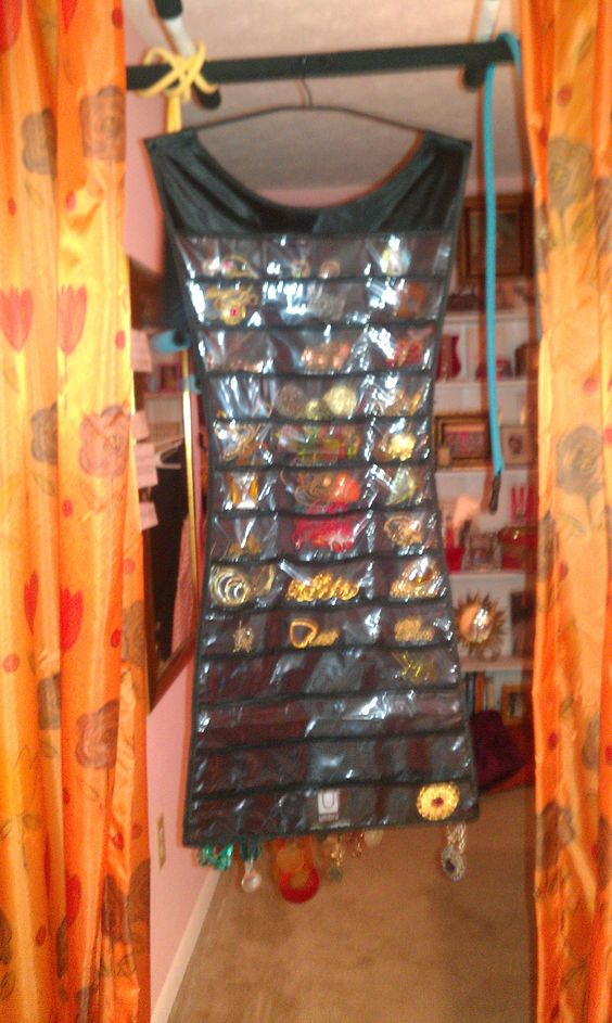 It called the Little Black Dress hanging jewelry organizer It is