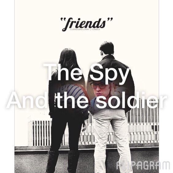 The Spy and The Soldier #steverogers #captainamerica #natasharomanoff #blackwidow #romanogers  ♫ Christina Perri - Human Made with Flipagram - http://flipagram.com/f/ahSaLRZvIP