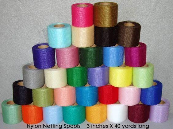 Craft Netting Spools