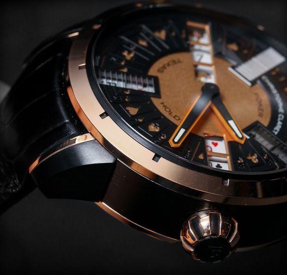 Christophe Claret Poker Watch Hands-On 2014  #lodon_a