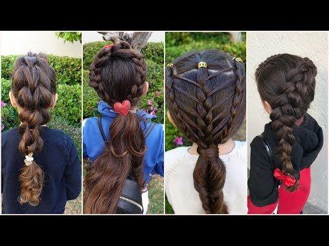 احدث تسريحات شعر للاطفال للعيد 2018 تساريح يوم العيد تسريحات شعر للعيد 2018 Youtube Hair Hair Styles Dreadlocks