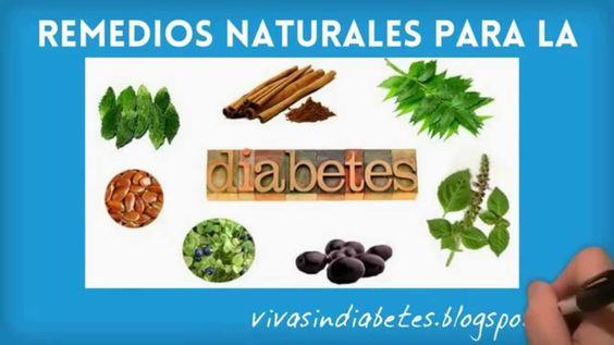 Remedios y Hierbas naturales para la diabetes - Como