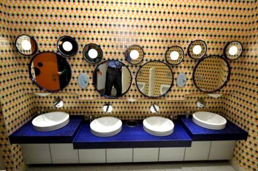 Mickey Mouse Bathroom Mirror 4 Homescorner Com Mickey Mouse Bathroom Bathroom Mirror Bathroom Sets