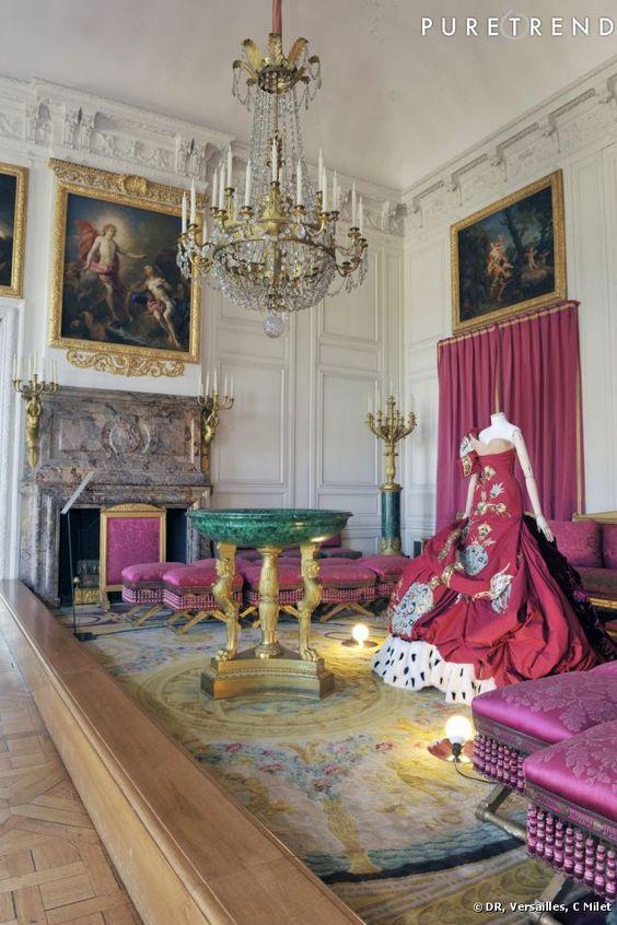 Criadores de moda no Grand Trianon