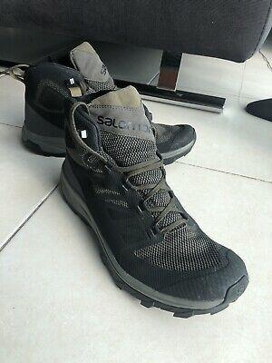 salomon men's outline gore-tex walking shoes trail