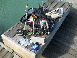 river fishing gear we need