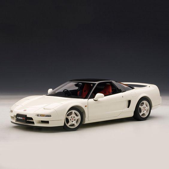 Honda NSX Type R 1992, Championship White