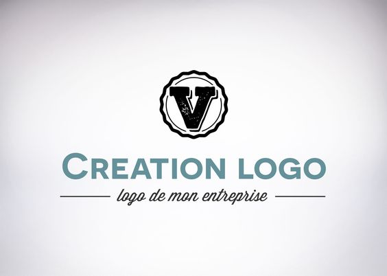 creation logo lettre
