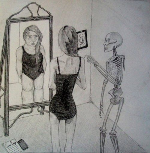 A study of anorexia a mental issue