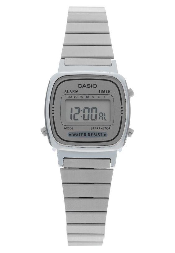Casio Digitaluhr silber Accessoires bei Zalando.de   Accessoires jetzt versandkostenfrei bei Zalando.de bestellen!