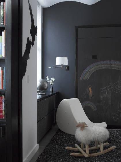 Un loft contemporain en noir et blanc - FrenchyFancy