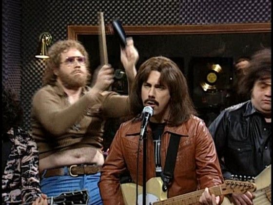 """""""More Cowbell,"""" SNL all day every day more!"""