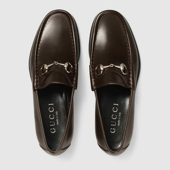 Gucci 1953 Leather Horsebit loafers