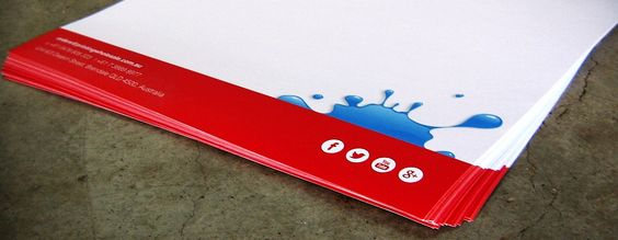 Letterheads made by Printing Wholesale https://www.printingwholesale.com.au/letterhead-printing/
