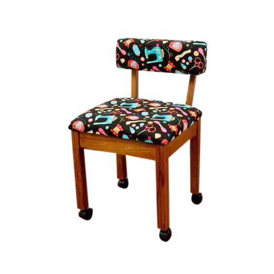 Arrow Brown Sewing Cabinet Craft Room Chair