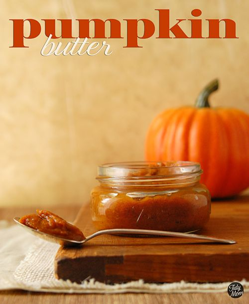 Pumpkin butter......mmmm, I can almost smell it cooking now