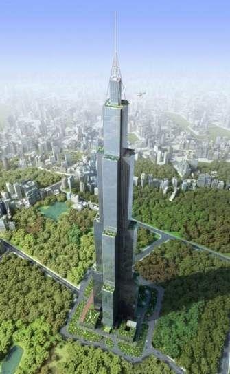 China construirá el edificio más alto del mundo… en solo 90 días. El Sky City One alcanzará 838 metros, 10 metros más que el Burj Dubai.