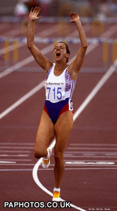 Athletics - Barcelona Olympic Games 1992 - Women's 400m Hurdles