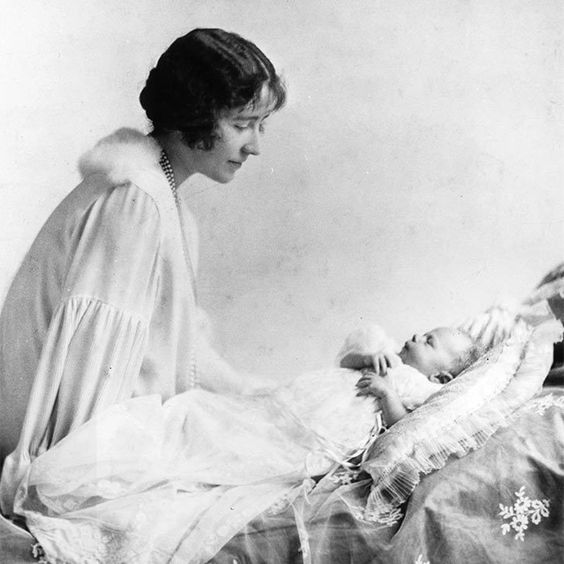 At the time, Elizabeth II stood third-in-line to the throne, after Edward, Prince of Wales – who became King Edward VIII but abdicated in December 1936 – and her father.  It was not expected that her father would become King, or that she would one day become Queen.   British royal baby photo album: Queen Elizabeth to Princess Charlotte