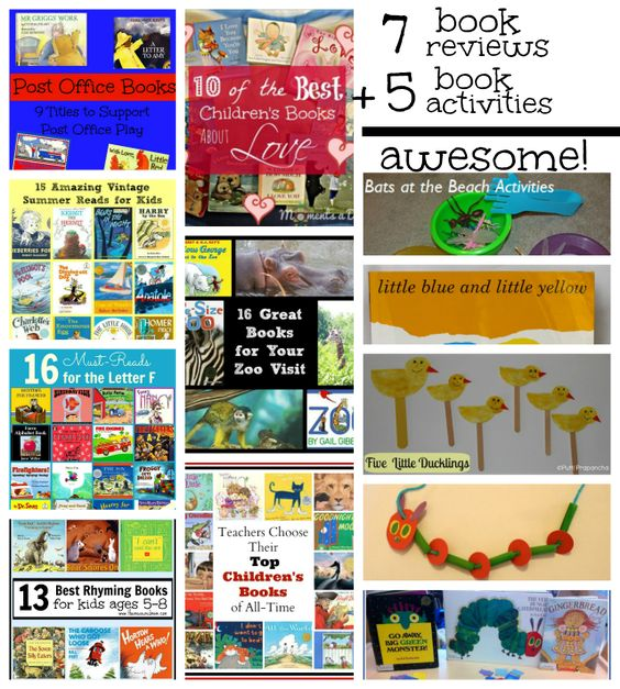 112 books reviewed over 7 sites and 5 fun book activities! SCORE!