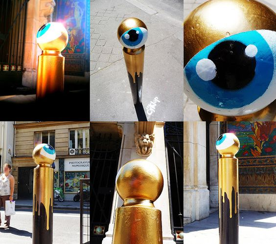 "Le CyKlop: ""Golden Eye"" / Paris-France"