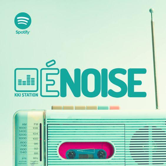 A partir de hoje, todas as quartas, estará no ar a É NOISE. A rádio mais criativa do pedaço. Sejam todos ouvidos.  HOJE: Playlist de Allan César. http://abre.ai/playlistallancesar