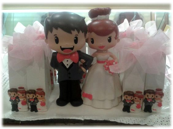 Casament i caixetes obsequis