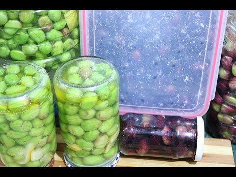 أنجح طريقة لترقاد الزيتون او تخليل الزيتون بدون عناء الاسود و الاخضر و البنفسجي Youtube Brussel Sprout Sprouts Vegetables