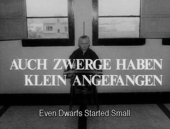 Auch Zwerge haben klein angefangen - Werner Herzog (1970)