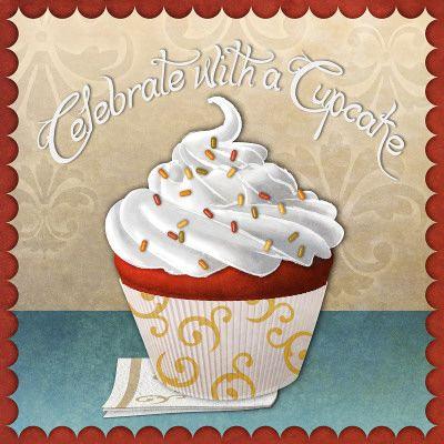 Princesa Vereníssima: Fiz quadro cupcake para minha cozinha!: