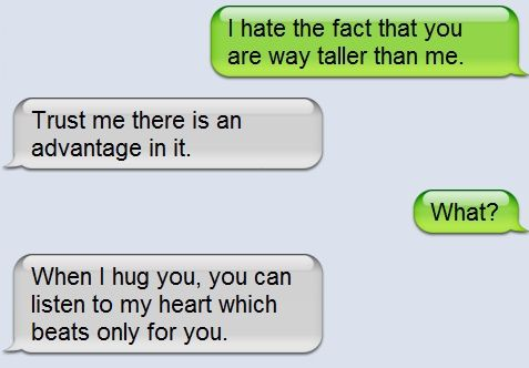 If you are taller than your boyfriend. Use thissss!
