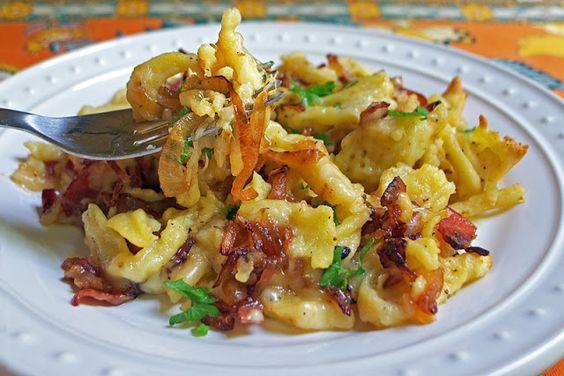 Käse Spätzle recipe