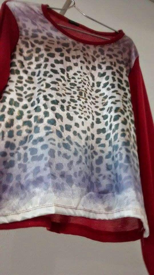 Lolita Retrô: Blusa Animal Print