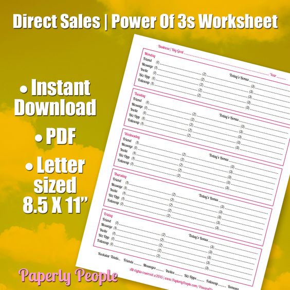 Marketing Plan Worksheet
