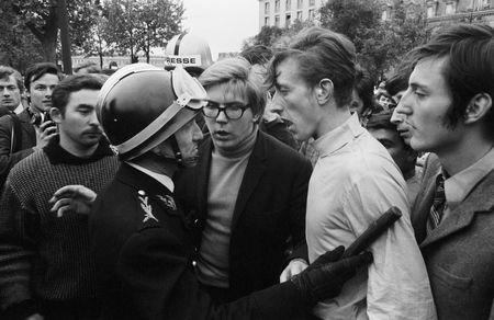 Goksin Sipahioglu. Student Riots.  May 6, 1968