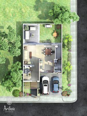 Planos de casas y plantas arquitect nicas de casas y for Casas estrechas y alargadas