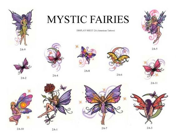 Fairies Tattoos, Designs And Ideas : Page 7