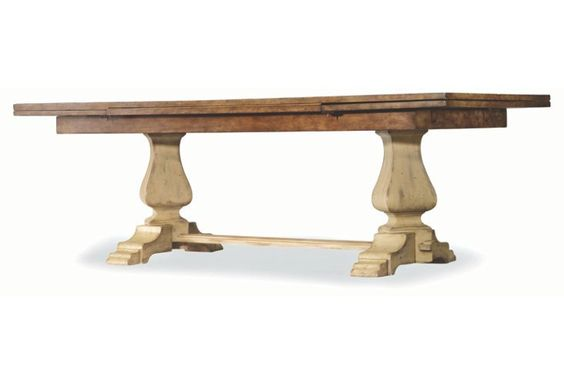 """Lennox 88"""" Extension Dining Table, Dune"""