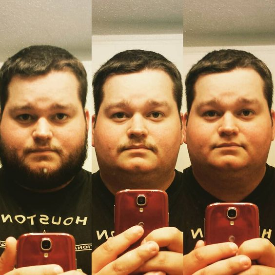 Shaving for possible job interviews! It's a shame when your fiance says you can't keep your pornstache lol.  #oddball #oddballpomade #pomade #pomp #pompadour #slick #slickedback #beard #beardsofinstagram #beardedvillains #beardgang #barber #barbershop #barbershopconnect #hair #haircut #haircare #beardless #cleanshave #cleanshaven by oddballpomade