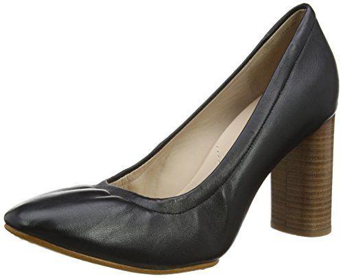 Grace Eva, Escarpins Femme, Noir (Black Leather), 40 EUClarks