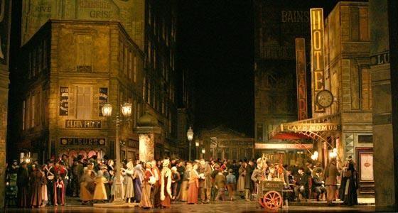 Paris 1830 Boheme   La Bohème d'Otto Schenk traverse le temps. Joseph Calleja épatant!